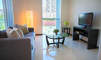 Living Room, 1701 SW 2nd Ave 801, 0