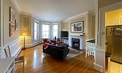 Living Room, 431 Beacon St, 1