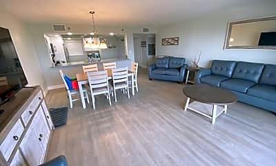 Living Room, 801 S Ocean Dr 701, 1