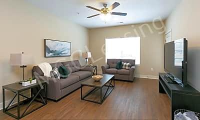 Living Room, 5711 NE 80th Ter Unit 1F, 2