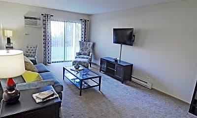 Living Room, Timber Oaks, 1