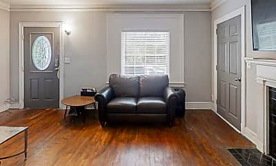 Living Room, Room for Rent -  a 3 minute walk to bus 813, 0