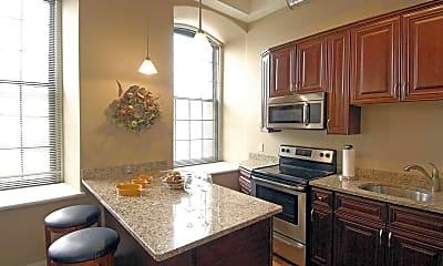 Kitchen, Lofts At Anthony Mill, 0