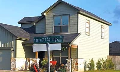 Building, Mammoth Springs, 0