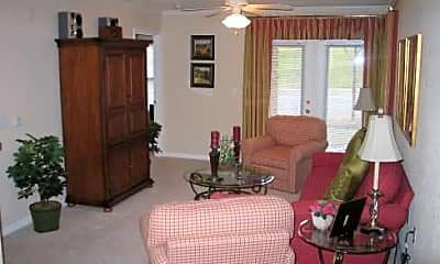 Living Room, Rivermere Apartments, 2