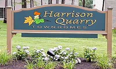 Community Signage, Harrison Quarry Townhomes, 2