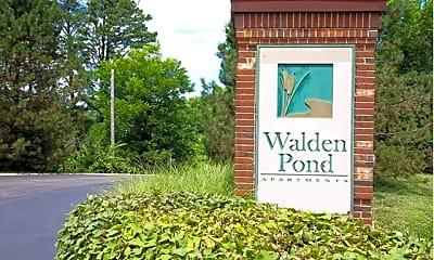 Community Signage, Walden Pond, 0