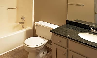 Bathroom, Court Woods Apartments, 2