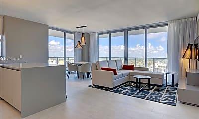 Living Room, 4010 S Ocean Dr R2502, 1
