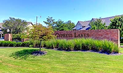 Community Signage, Legacy at Cypress Lakes Apartments, 2