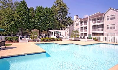 Pool, Magnolia Terrace, 1