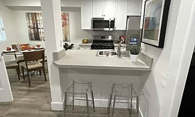 Kitchen, BRAND NEW EVERYTHING! HEART OF KOREATOWN! * WASHER & DRYER in unit!, 1