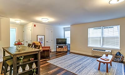 Living Room, 998 North Washington Ave Apartments, 0
