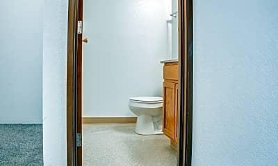 Bathroom, Tallgrass Apartments, 2