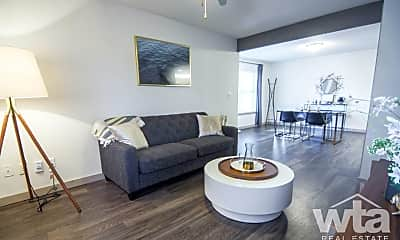 Living Room, 1500 Crossing Place, 1