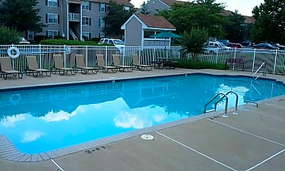 Pool, Columbia Hills Apartments, 1
