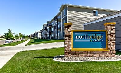 Community Signage, North Ridge Apartments, 2