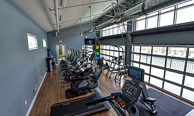 Fitness Weight Room, Springs at Orchard Road, 0