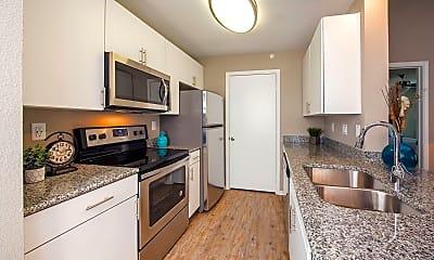 Kitchen, Carrollton Park of North Dallas, 1