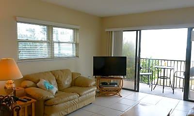 Living Room, 1251 S Atlantic Ave 201, 1