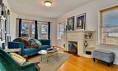 Living Room, 4519 N Harding Ave, 2