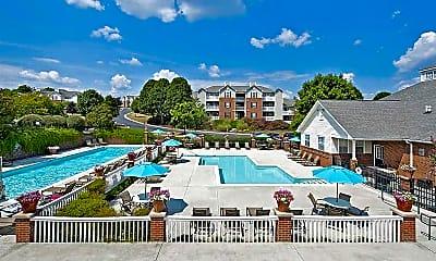 Pool, Glade Creek Apartments, 0