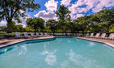 Pool, Weathervane Apartments, 1