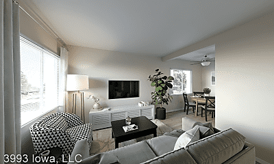 Living Room, 3993 Iowa Ave, 0