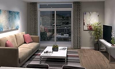 Living Room, 600 Lofts, 1