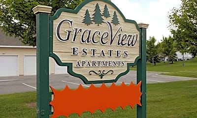 Community Signage, Graceview Estates Apartments, 2