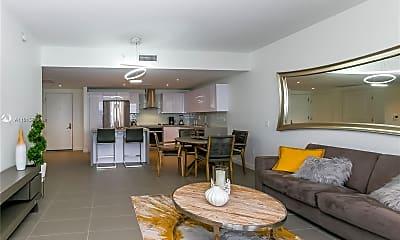 Living Room, 1600 NE 1st Ave 1617, 1