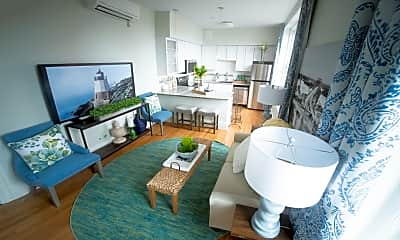 Living Room, The Residences at Adams House, 2