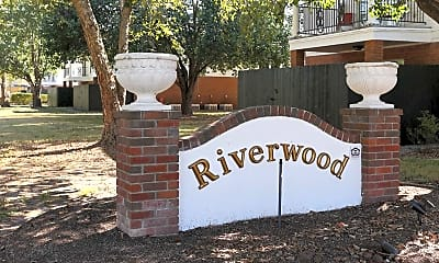 Community Signage, Riverwood Apartments, 2