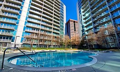 Pool, 950 West Peachtree Street  Unit 1211, 2