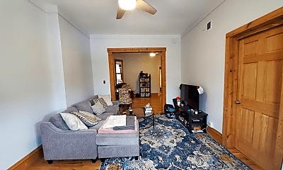 Bedroom, 1850 N Milwaukee Ave, 1