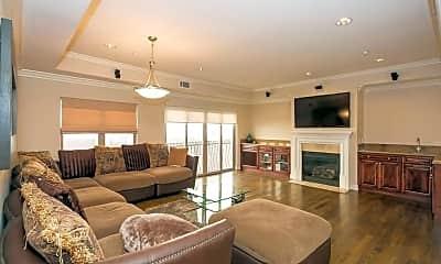 Living Room, 1741 S Bentley Ave 5, 1
