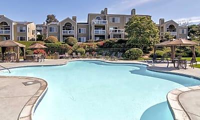Pool, Seagate Condominiums, 0