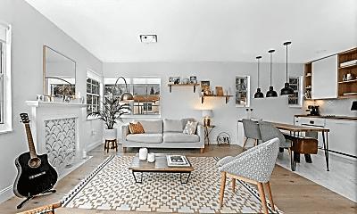 Living Room, 1457 Meridian Ave, 0