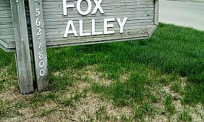 Fox Alley Apartments, 1