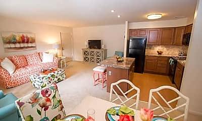 Living Room, Tall Oaks, 1