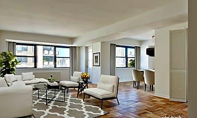 Living Room, 250 East 86th St, 1