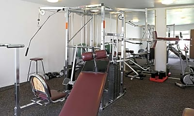 Fitness Weight Room, Carson Catalina, 2