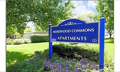 Community Signage, Rosewood Commons, 1