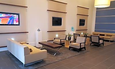 Living Room, 400 W. Peachtree St. #709, 2