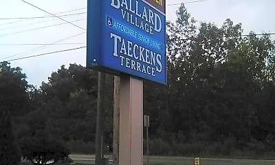 Taecken's Terrace, 1