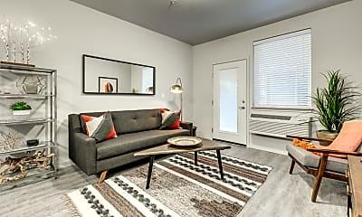 Living Room, Union Park Apartments, 0