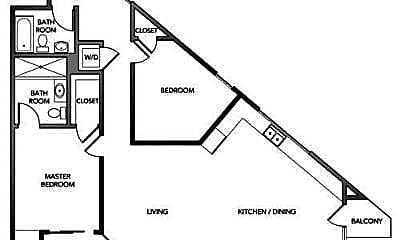 Bedroom, 2200 Market St, 2