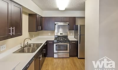 Kitchen, 6511-B Melrose Trail, 2