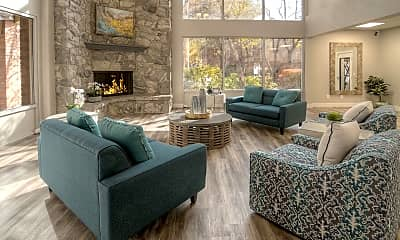 Living Room, Wasatch Club, 1