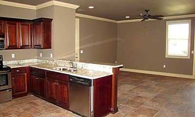 Kitchen, Hill Valley Apartments, 1